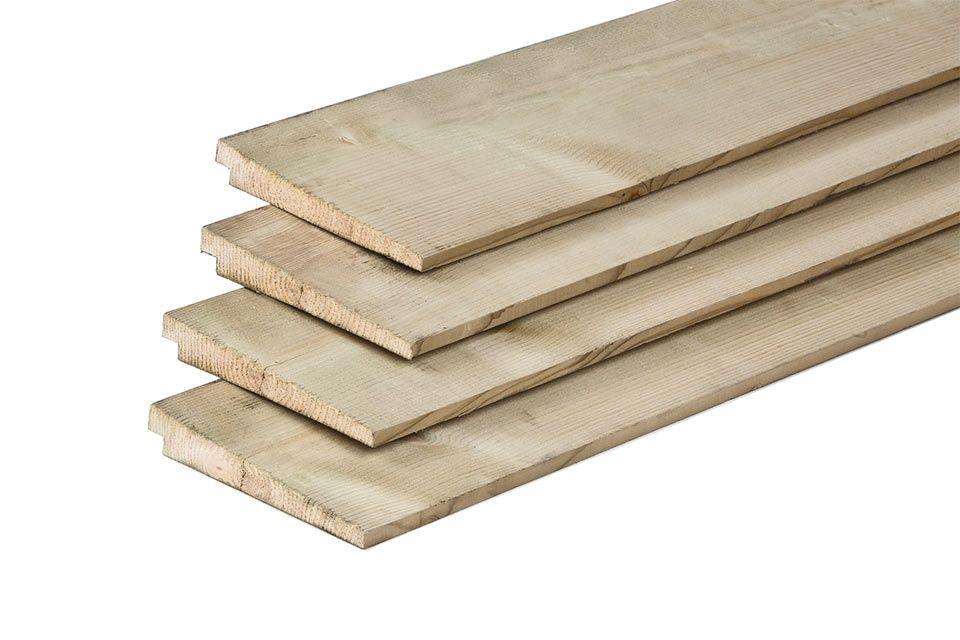 1e kwaliteit geselecteerd Lariks/Douglas-hout