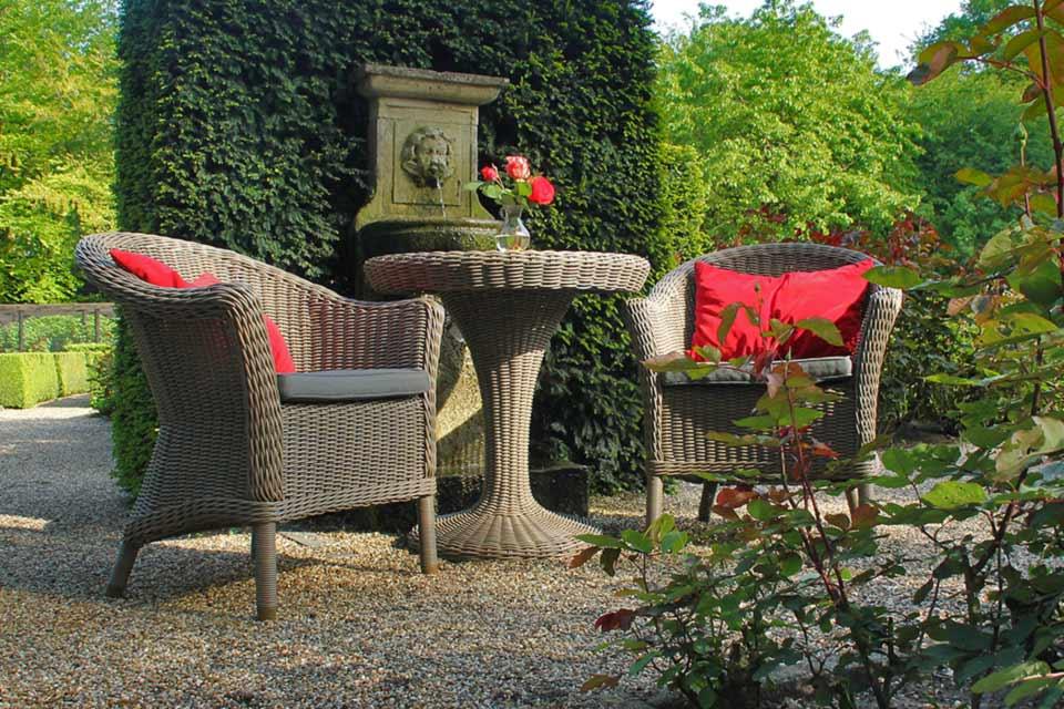 Chester Victoria Bistroset Wicker | 4 Seasons Outdoor!