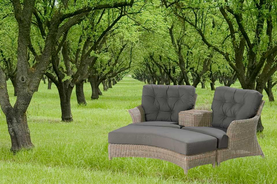 LoveseatValentine Pure Wicker | 4 Seasons Outdoor!