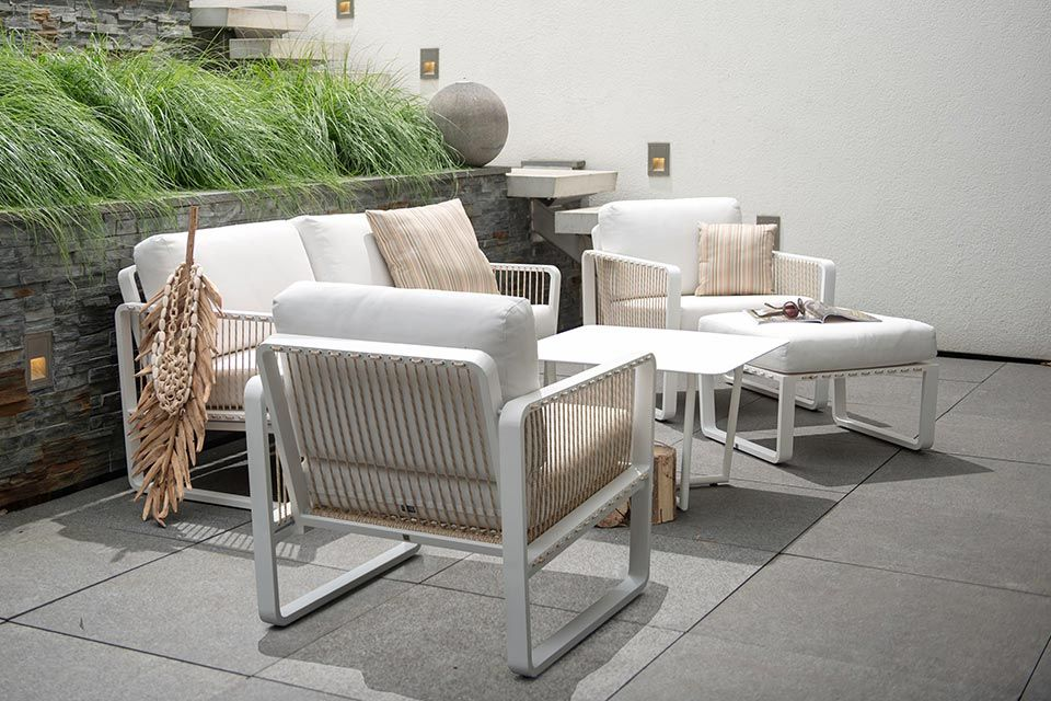 Loungeset Largo Aluminium | 4 Seasons Outdoor!