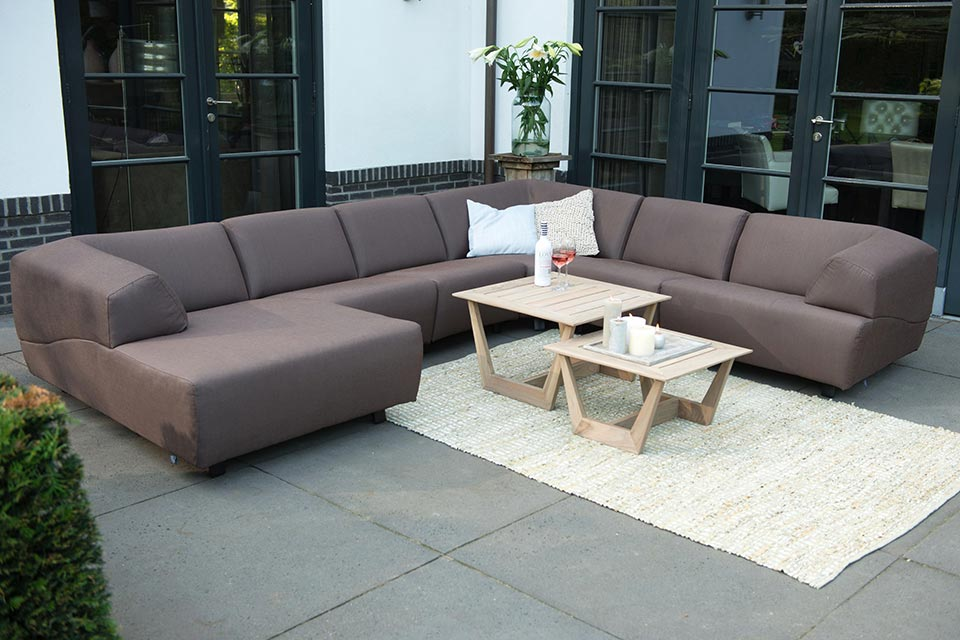 Loungeset Hoekbank Hugo | 4 Seasons Outdoor!