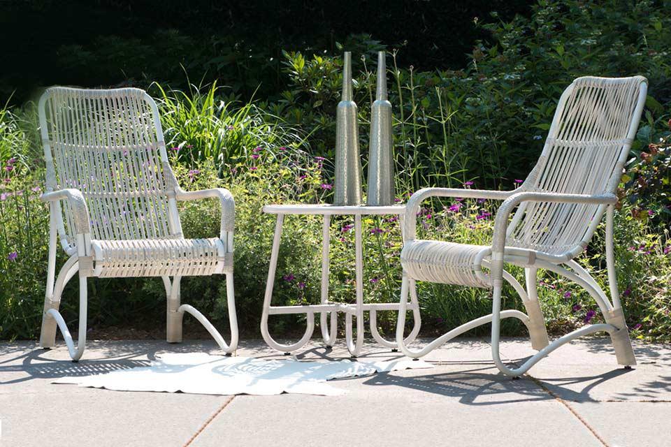 Olivia Loungeset | Wicker | 4 Seasons Outdoor!