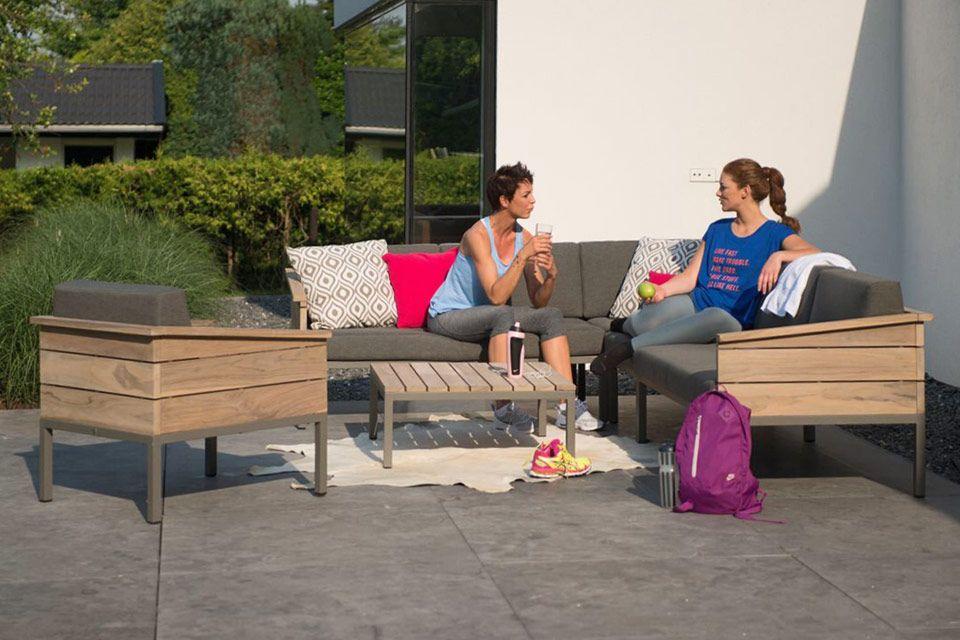 Living Chair Loungestoel Cava | Teakhout | 4 Seasons Outdoor!