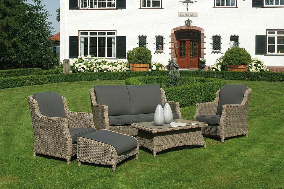 Loungeset Brighton | Wicker | 4 Seasons Outdoor!