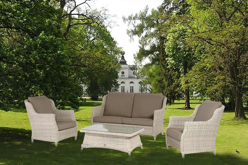 Loungeset Hoekbank Brighton Wicker 4 Seasons Outdoor | 4 Seasons Outdoor!