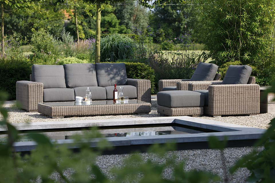 Loungeset Kingston | Wicker | 4 Seasons Outdoor!