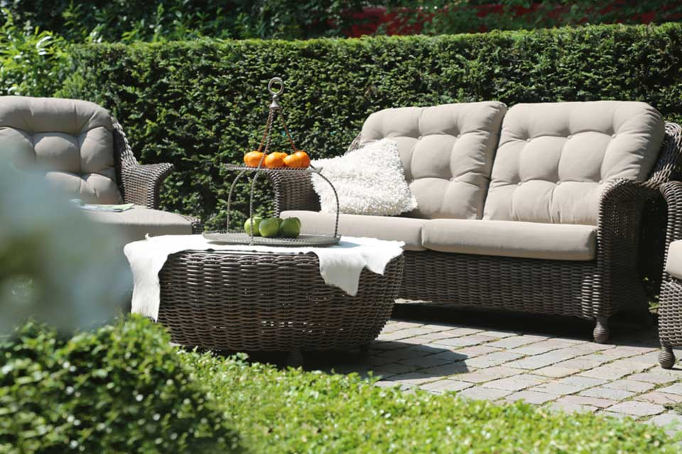 Madoera Living Loungeset | Colonial Wicker | 4 Seasons Outdoor!