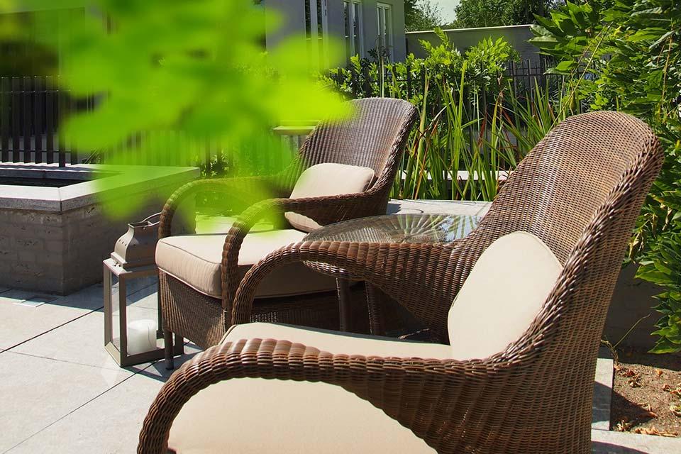 Loungeset Sussex | Polyloom Wicker | 4 Seasons Outdoor!