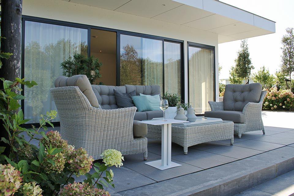 Loungeset Valentine Wicker Provance   4 Seasons Outdoor!