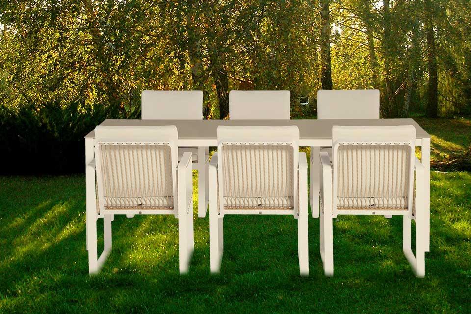 Tuinset Largo Aluminium   4 Seasons Outdoor!