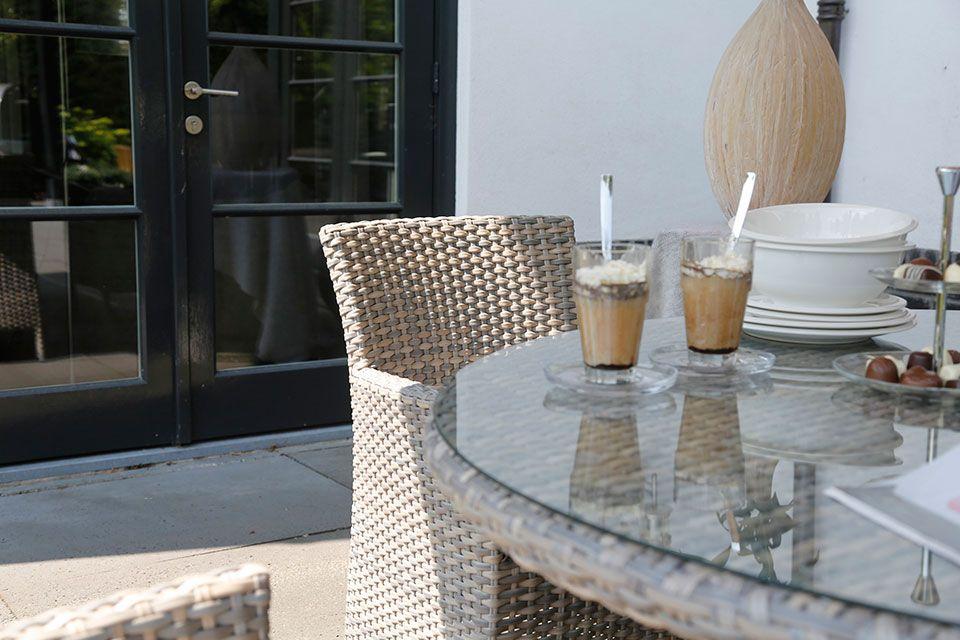 AberdeenTuinstoel Dining Chair Wicker | 4 Seasons Outdoor!