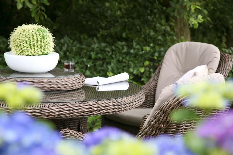 Madoera Dining Table Tuintafel | Colonial Wicker | 4 Seasons Outdoor!