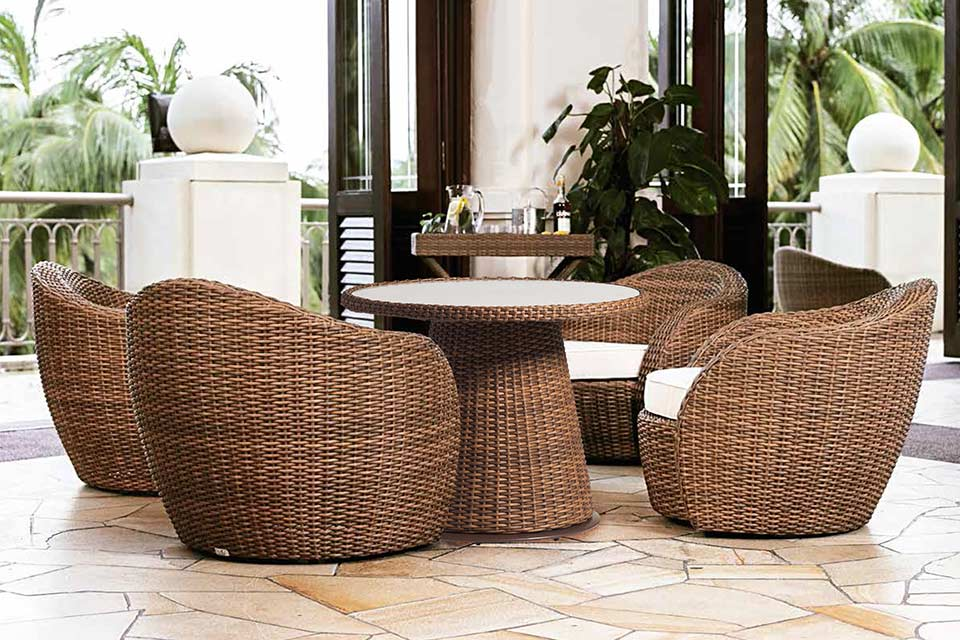 Lounge diningset lotus tan artie - Lounge warme kleur ...