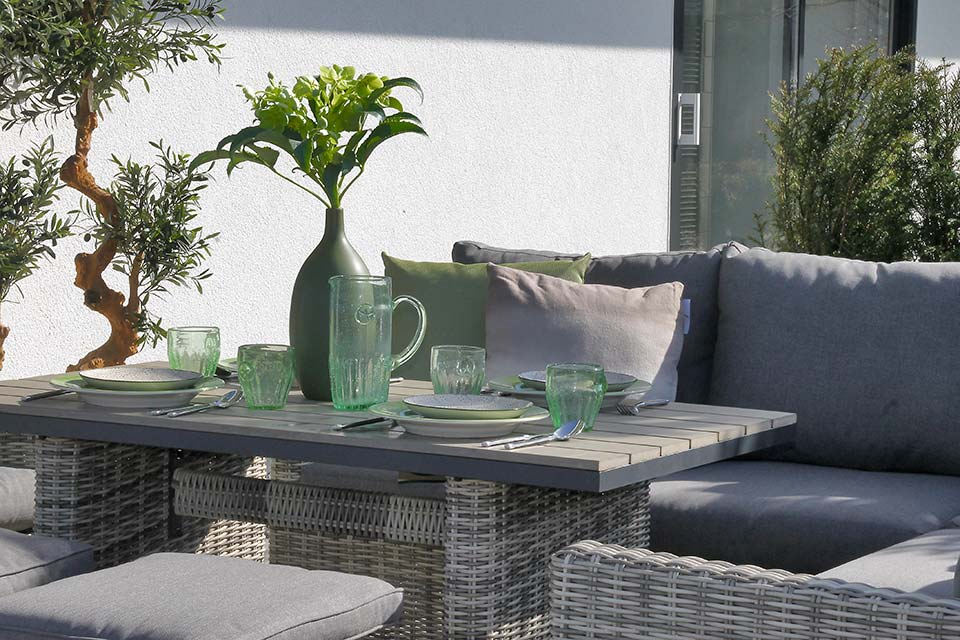 Loungeset Eetset Calley Wicker - FOLM Collectie!