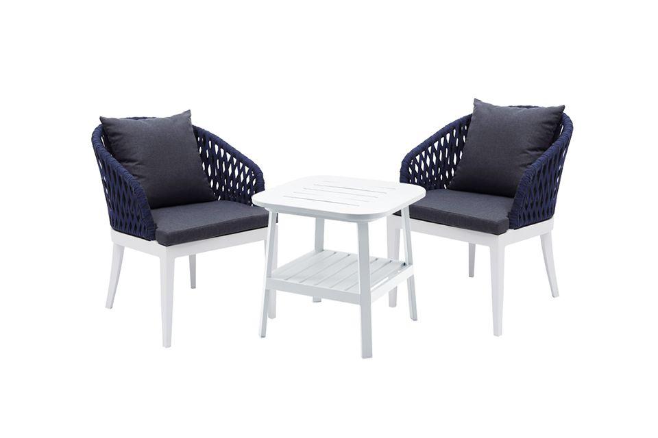 Buenos Tuinstoel Eetstoel Dining Chair | Aluminium | Fonteyn Collectie!