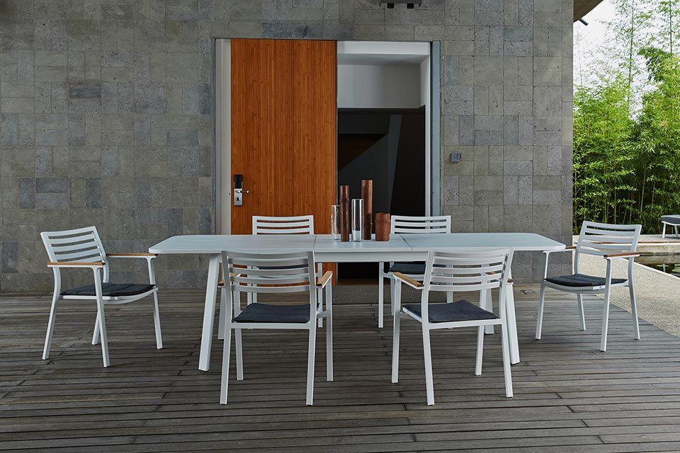 Klara Tuinset Eetset | Aluminium | Fonteyn Collectie!