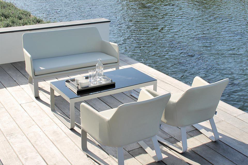 Breeze Loungeset | Aluminium Buitenleer | Passion Outdoor Living!
