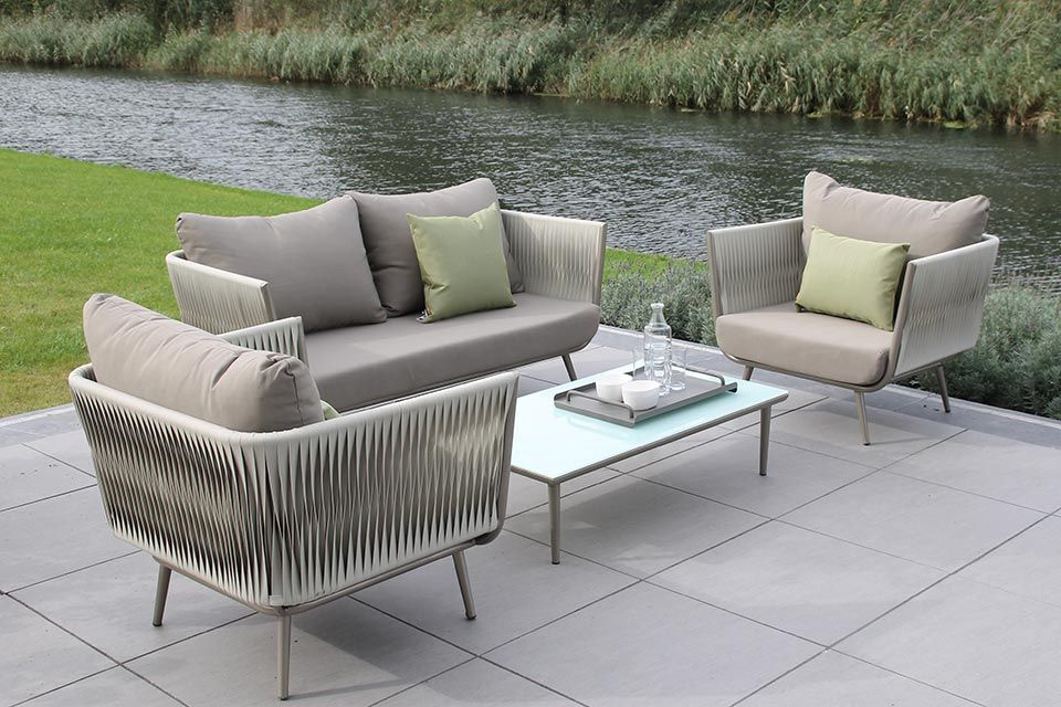 Zoe Loungeset | Aluminium | Passion Outdoor Living!