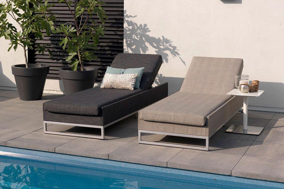 Loungeset Hoekbank Ibiza Textilene Persoon Exotan!