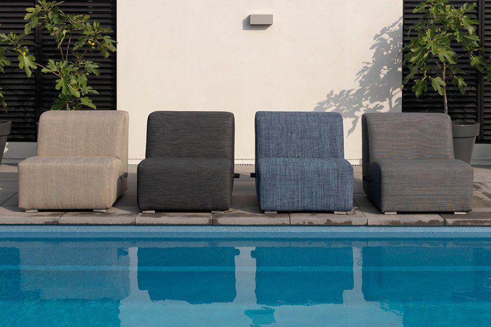 Loungeset Hoekbank Casablanca Textilene Persoon Exotan!