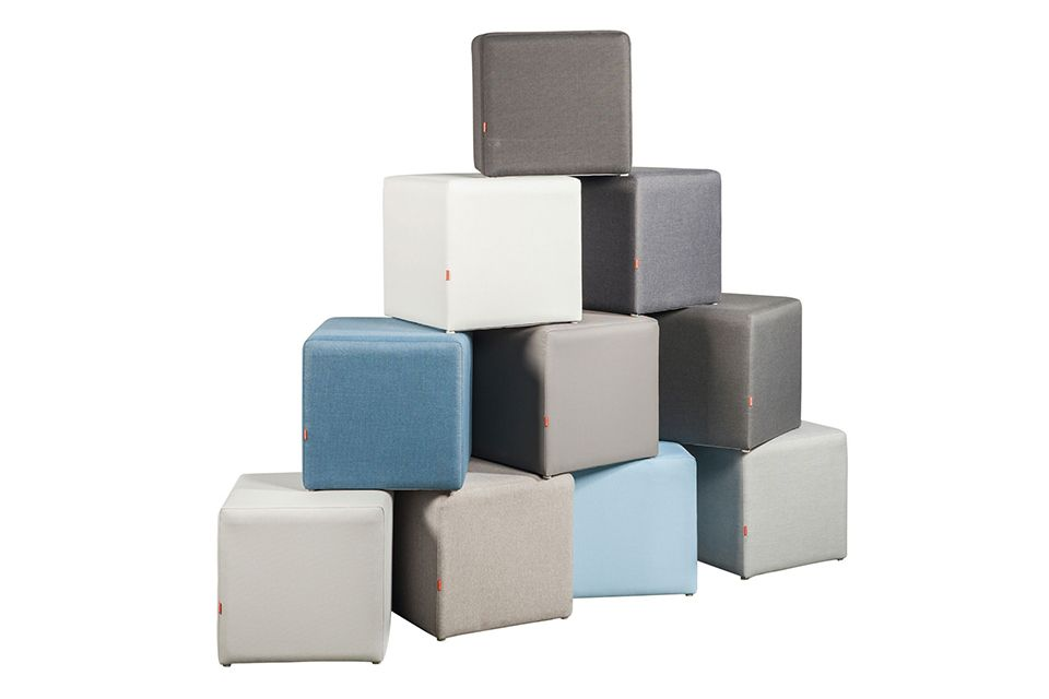 Hocker Cubo - SUNS Red Collectie !